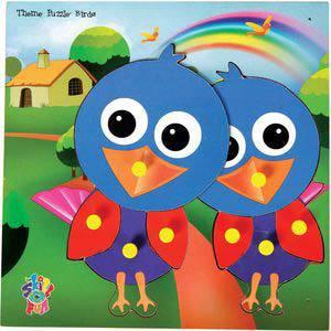 skillofun theme puzzle standard bird