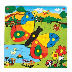 skillofun theme puzzle standard butterfly