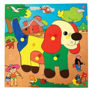 skillofun theme puzzle standard dog