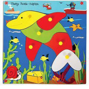 skillofun theme puzzle standard dolphin