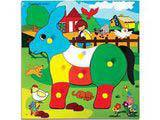 Skillofun Theme Puzzle Standard - Donkey