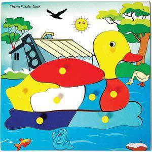 skillofun theme puzzle standard duck
