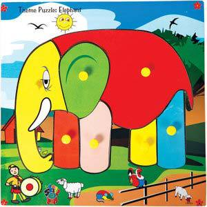 skillofun theme puzzle standard elephant