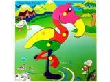 Skillofun Theme Puzzle Standard - Flamingo