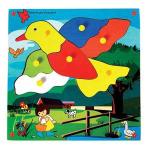skillofun theme puzzle standard flying bird