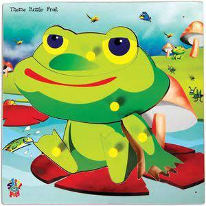 skillofun theme puzzle standard frog