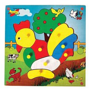 skillofun theme puzzle standard hen