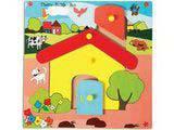 Skillofun Theme Puzzle Standard - Hut