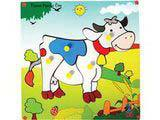 Skillofun Theme Puzzle Standard - Jersey Cow