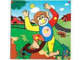 Skillofun Theme Puzzle Standard - Monkey
