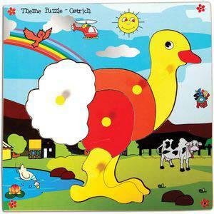 skillofun theme puzzle standard ostrich