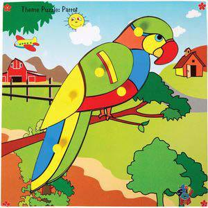 skillofun theme puzzle standard parrot