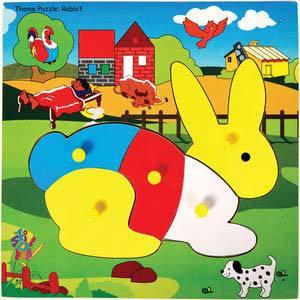skillofun theme puzzle standard rabbit
