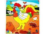Skillofun Theme Puzzle Standard - Rooster
