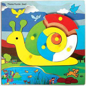skillofun theme puzzle standard snail