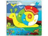 Skillofun Theme Puzzle Standard - Snail
