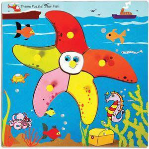 skillofun theme puzzle standard star fish