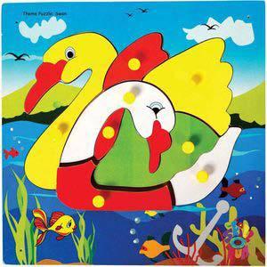 skillofun theme puzzle standard swan