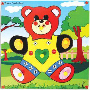 skillofun theme puzzle standard teddy bear