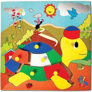 skillofun theme puzzle standard tortoise with cap