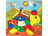 Skillofun Theme Puzzle Standard - Tortoise With Cap