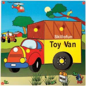 skillofun theme puzzle standard van