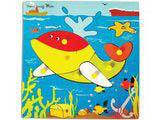 Skillofun Theme Puzzle Standard - Whale
