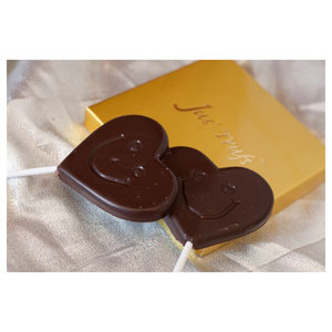 smiley heart shaped surprises premium chocolates
