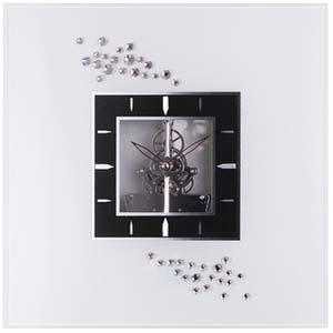 sparkling times designer clock from nextime 2960