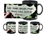 Special Magic Black Mug
