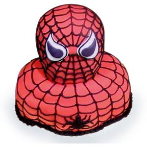 spiderman shapke cake