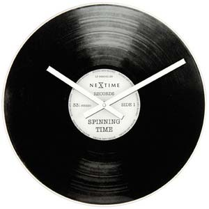 spinning time by tycho merijn roest designer clock from nextime b2500001