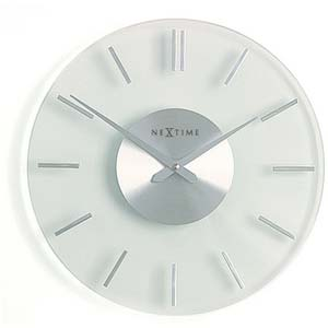 stripe designer clock from nextime 2632