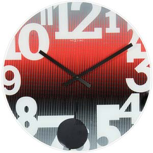 swing designer clock from nextime 8127ro