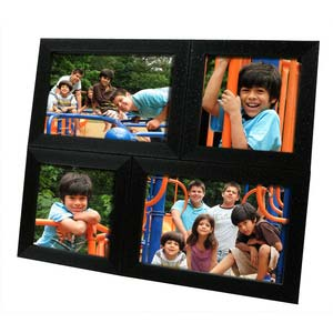 tabletop 4x6 4x4 collage frame black