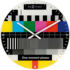 test page designer clock from nextime 8607en