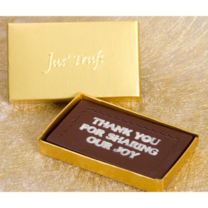 thank you for sharing our joy premium chocolates