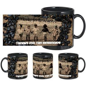 thanks for memory black mug