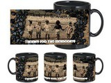 Thanks For Memory Black Mug