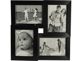 Four Collage Frames, Black