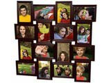 Collage Frames for Sixteen Pictures, Brown