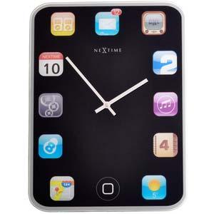 wallpad designer clock from nextime 3022