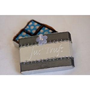 wedding favor box set of 12 premium chocolates