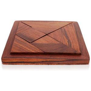 wooden puzzle 7 parts games