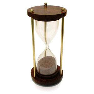wooden timer 5 min nauticals